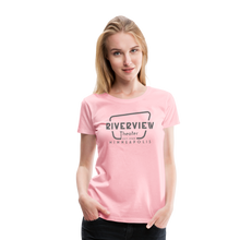 Load image into Gallery viewer, Women's Grey Logo T-Shirt - pink