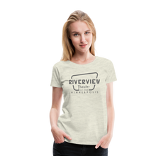 Load image into Gallery viewer, Women's Grey Logo T-Shirt - heather oatmeal