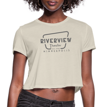 Load image into Gallery viewer, Women's Cropped T-Shirt - dust
