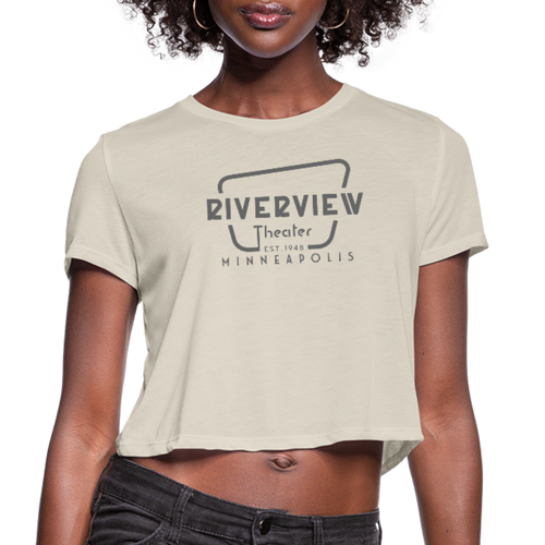 Women's Cropped T-Shirt - dust