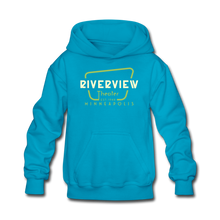Load image into Gallery viewer, Kids' Hoodie - turquoise
