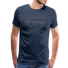 Load image into Gallery viewer, Men's Grey Logo T-Shirt - navy
