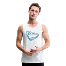 Load image into Gallery viewer, Men's Premium Vintage Tank - white