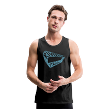 Load image into Gallery viewer, Men's Premium Vintage Tank - black