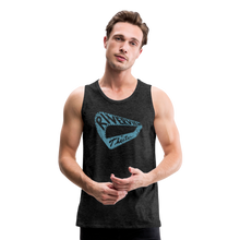 Load image into Gallery viewer, Men's Premium Vintage Tank - charcoal gray