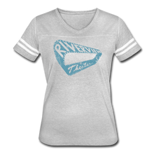Load image into Gallery viewer, Women's Vintage Sport T-Shirt - heather gray/white