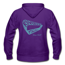 Load image into Gallery viewer, Gildan Heavy Blend Women's Zip Hoodie - purple