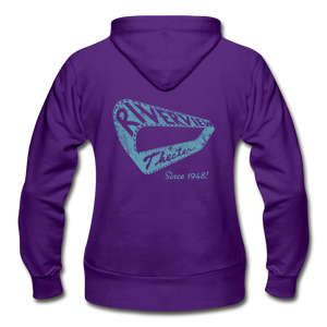 Gildan Heavy Blend Women's Zip Hoodie - purple