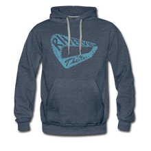 Load image into Gallery viewer, Men's Premium Hoodie - heather denim
