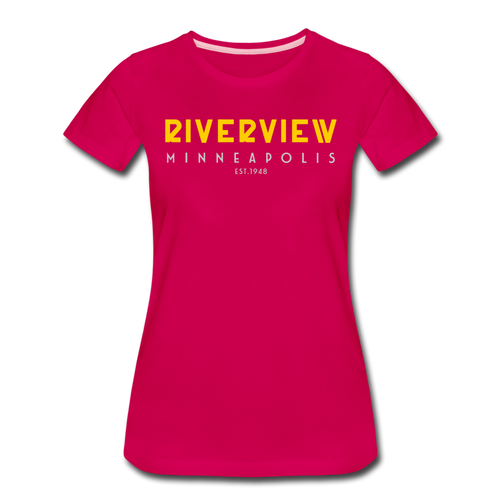 Women's Premium T-Shirt - dark pink