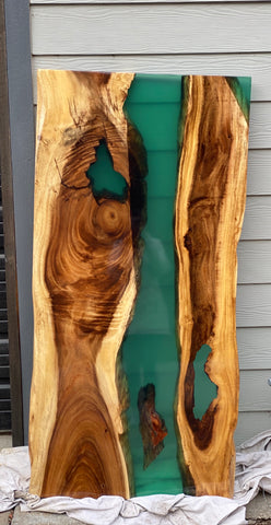 Blue/Green River Table