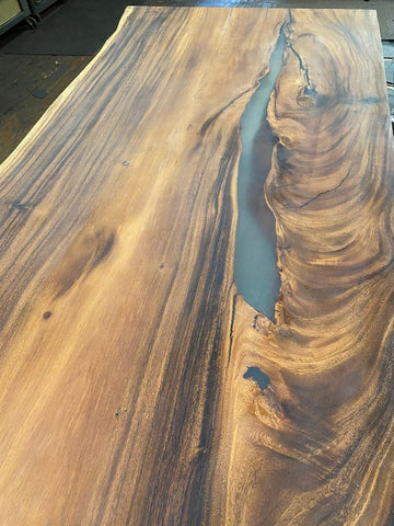 Large Live Edge Conference Table