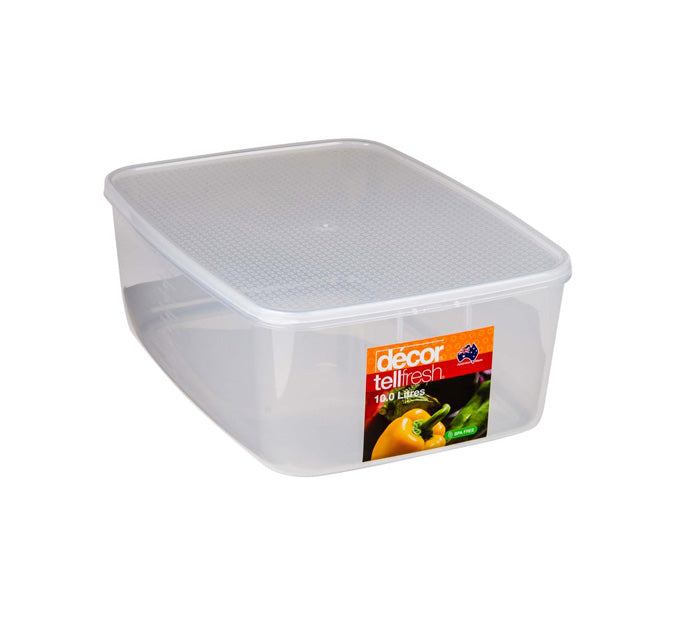 Tellfresh 10 Litre Oblong
