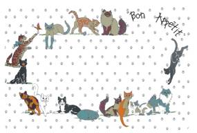 Placemat, Cat & Dog Theme