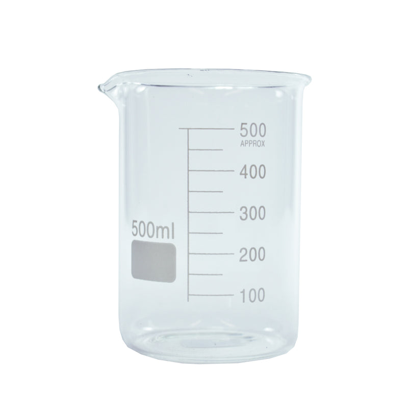 Glass Measure Beaker 500ml
