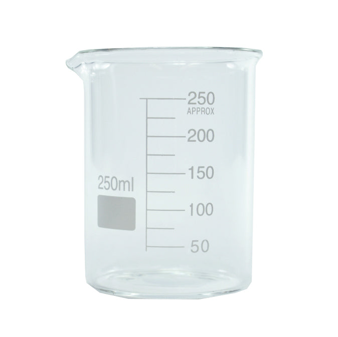 Glass Measure Beaker 250ml