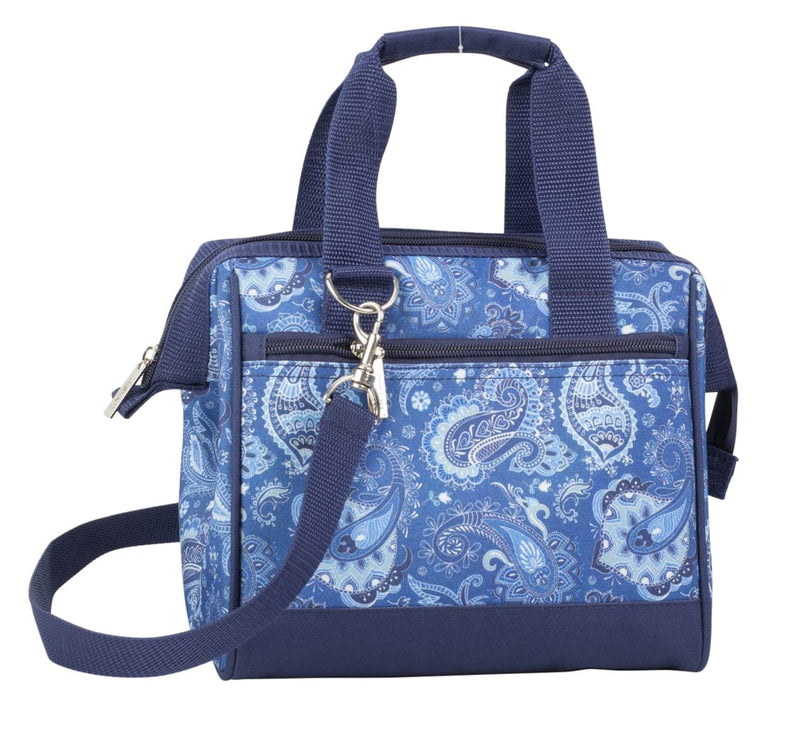 Insulated Lunch Bag Paisley