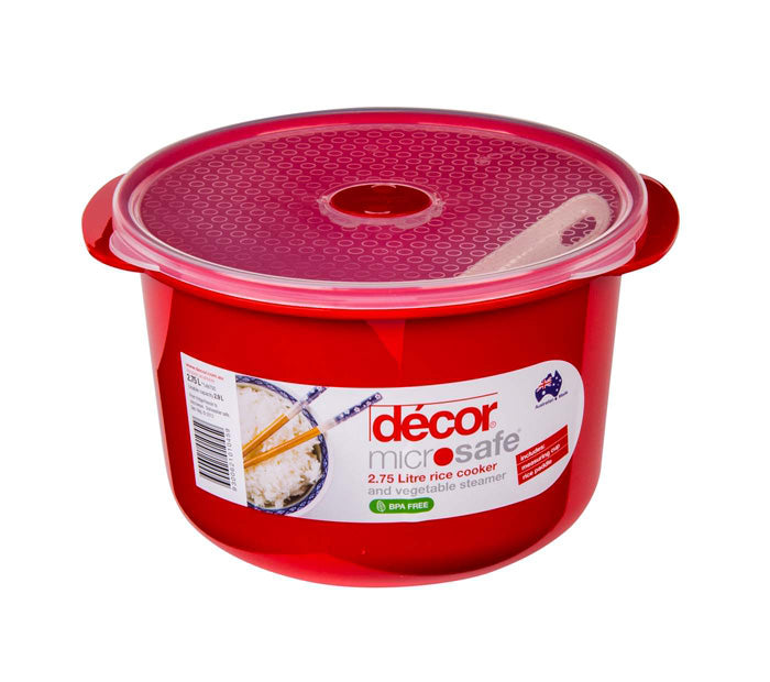 Decor Microsafe Rice Cooker 2.75 Litre