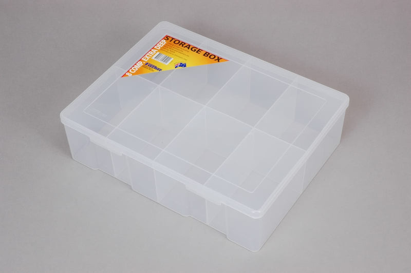 Fischer 8 Compartment Large Extra Deep