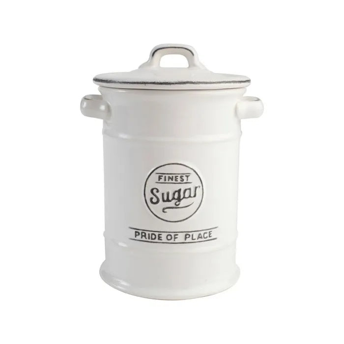 Sugar Canister White