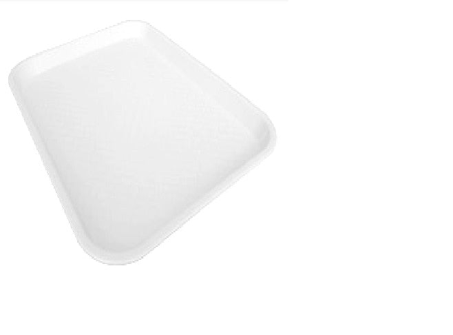 Fast Food Tray Large White