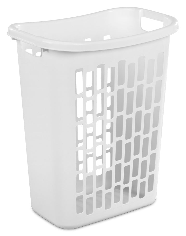 Sterilite Laundry Hamper Open