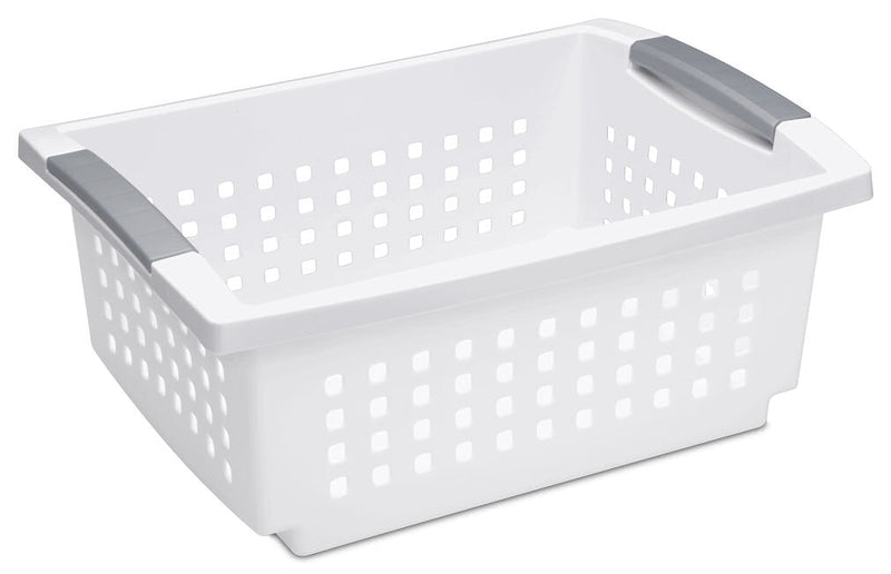 Sterilite Stacking Basket Medium