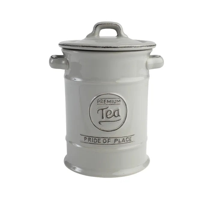 Tea Canister Grey