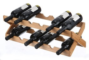 Wine Rack Folding 12 Bottle