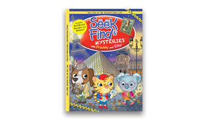 Seek & Find Mysteries® with Freddy and Ellie - The Case of the Missing Mona Lisa