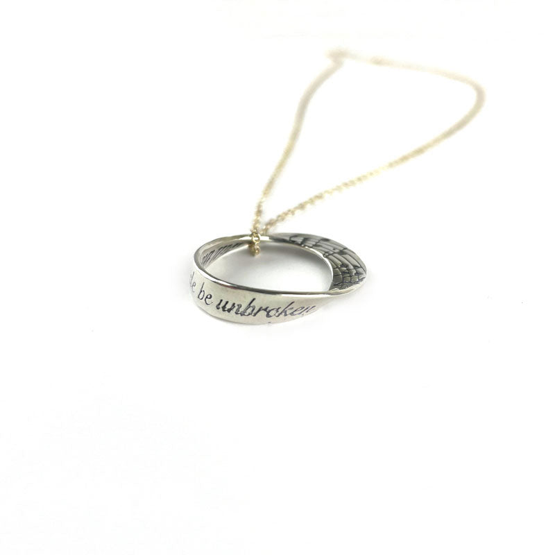 Will the Circle Be Unbroken Sterling Silver Necklace