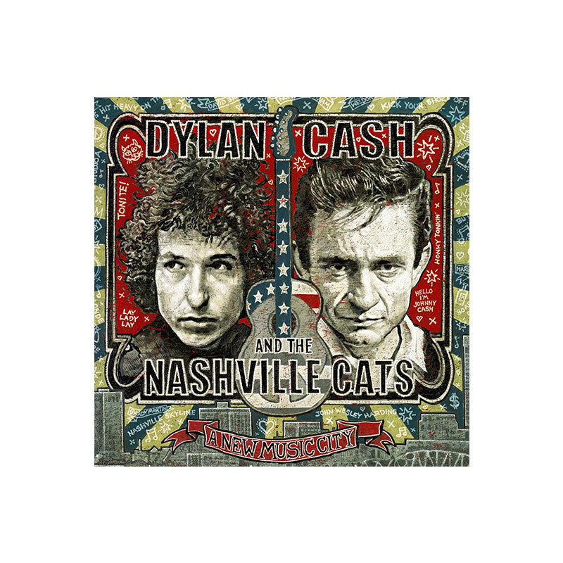 Dylan, Cash, and the Nashville Cats 2-CD Set
