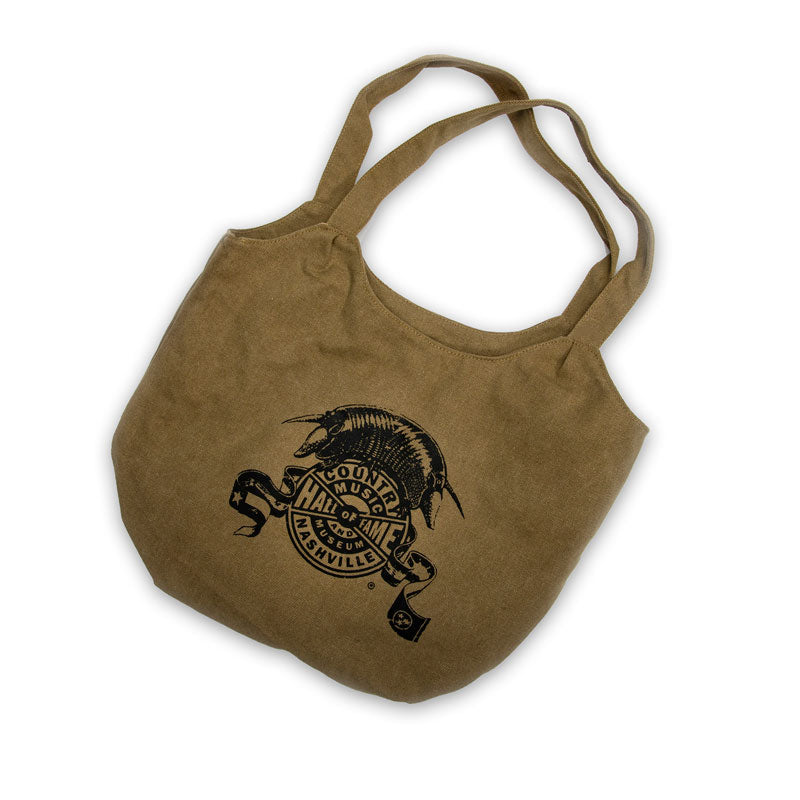 Outlaws Khaki Hobo Tote