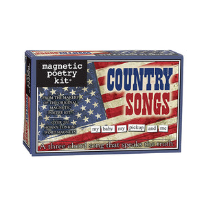 Country Songs Magnetic Poetry