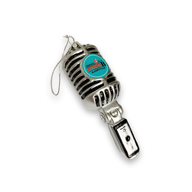 Studio B Microphone Ornament