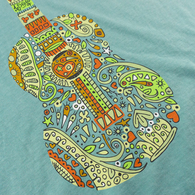 Mosaic Guitar T-Shirt