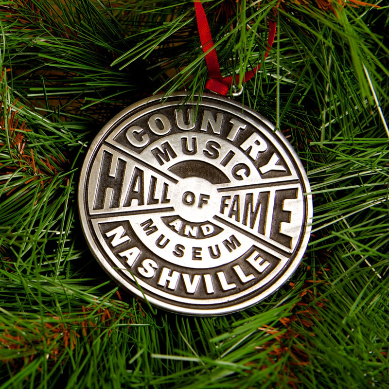 Pewter Logo Ornament