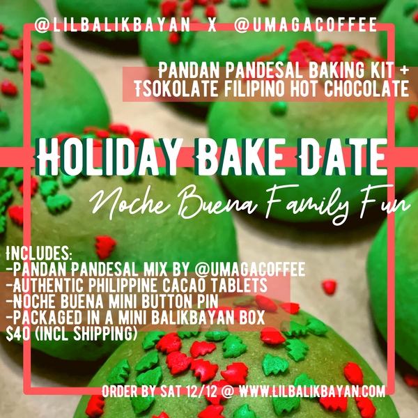 Holiday Bake Date: Noche Buena Family Fun