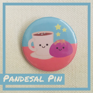 Pandesal + Hot Cocoa Pin