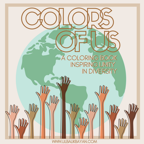"""Colors of Us"" A Coloring Book Inspiring Unity in Diversity"