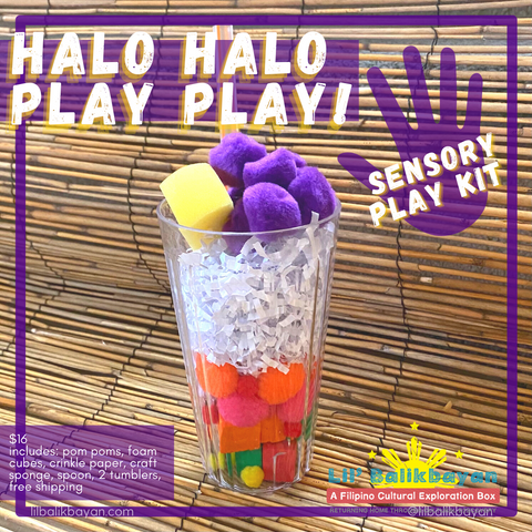 Halo Halo Play Play! Sensory Play Kit