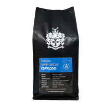 Load image into Gallery viewer, SWP Decaf Espresso | 5 Time Golden Bean Medal Winner