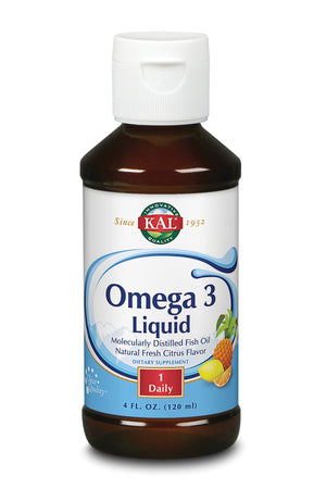 Omega 3 Citris Liquid - 4oz