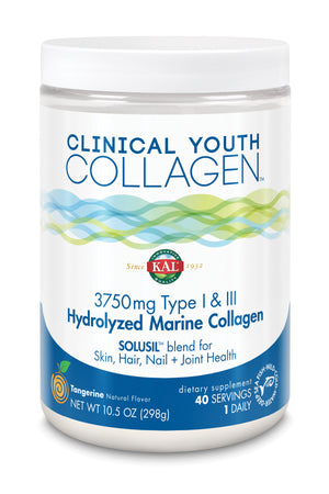 Clinical Youth Collagen Type I & Iii Powder - 10.5oz
