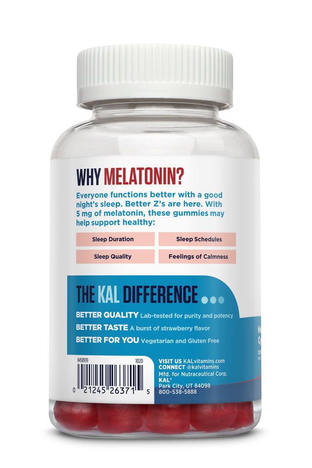 Melatonin 5mg Gummy - 60ct