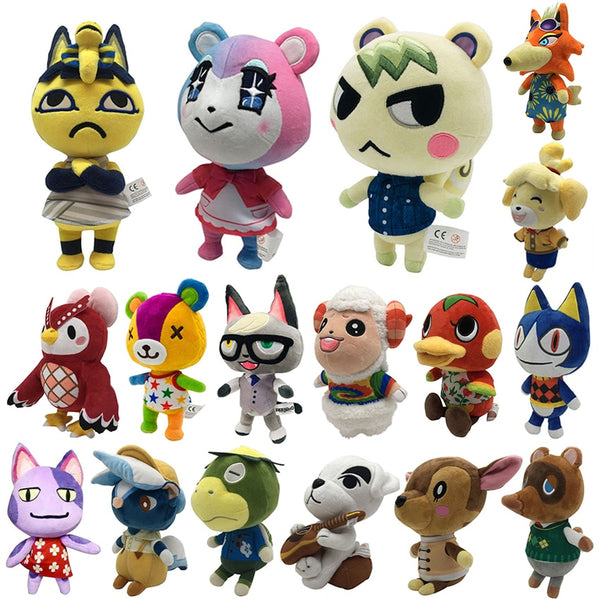 Hot new 20cm Animal Crossing Plush toy Doll Amiibo marshal Rare animals Plush toy Games NFC Plush toy Pick from the List