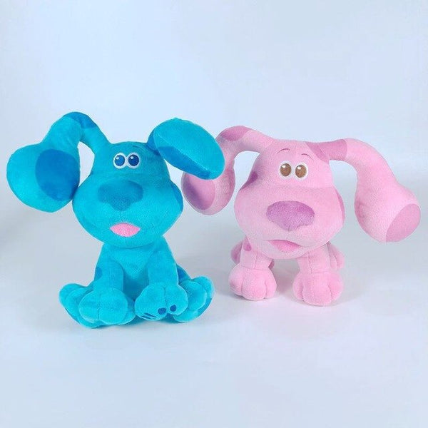 Blue's Clues & You! Beanbag Plush Blue Pink Dog Stuffed Animals Plush Toy