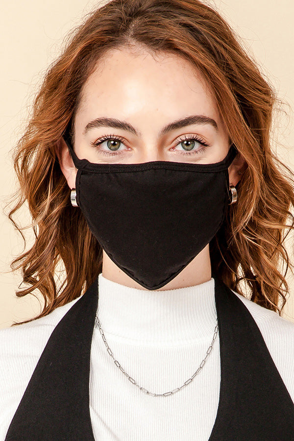 REUSABLE & WASHABLE 3-LAYER MASK