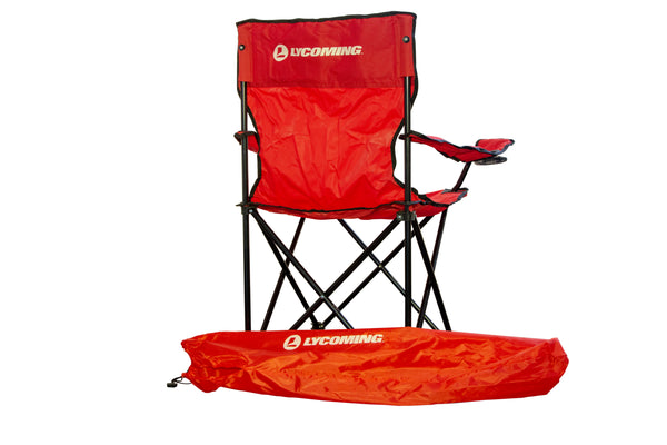 Adult Folding Chair with Bag/Cup Holder