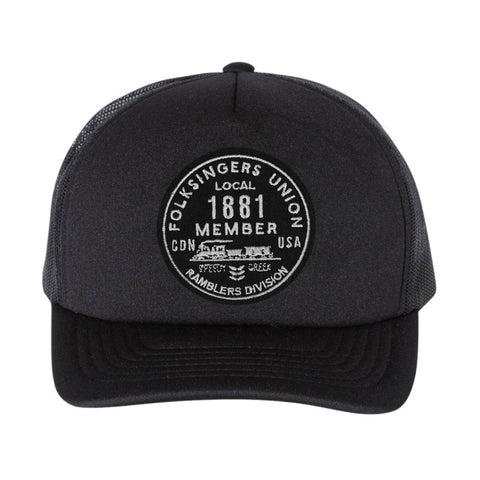 Folksingers Logo Patch Hat